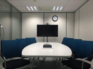 Konferenzraum f. Audio-u. Videokonferenzen
